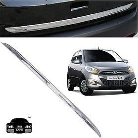 Trigcars Hyundai i10 Car Chrome Dicky Garnish + Free Gift Car Bluetooth 250/