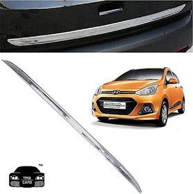 Trigcars Hyundai i10 Grand Car Chrome Dicky Garnish + Free Gift Car Bluetooth 250/