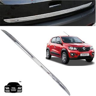 Trigcars Renault Kwid Car Chrome Dicky Garnish + Free Gift Car Bluetooth 250/