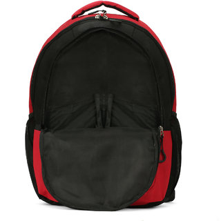 LeeRooy Canvas 22 Ltr Red Stylish Bag Backpack For Men