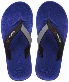 b846c407ecf5fb Reebok Men s Adventure Flip Awesome Blue Flip-Flops and House Slippers