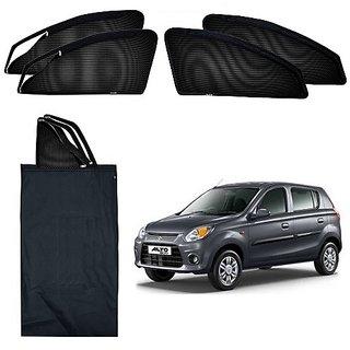 Trigcars Maruti Suzuki Alto 800 Car Magnetic Zipper Sunshade + Free Gift Bluetooth 250/