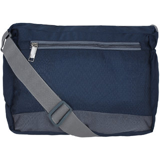 a130edd0f8 Buy BumBart collection Men Women Casual Dark Blue Polyester Sling Bag  Online - Get 72% Off