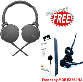 SONY MDR-XB550  WITH MDR-EX760NA