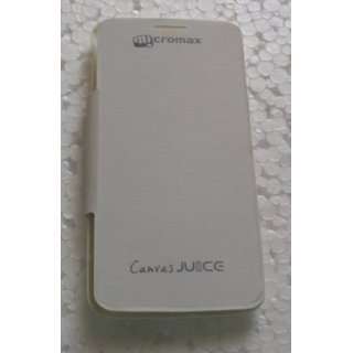 Micromax Canvas Juice A77/177 Mobile Back Flip Cover Cases