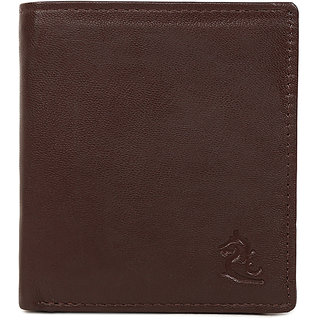 Kara MenS Tan Leather Wallet