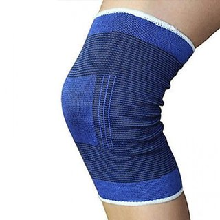 Utkarsh Pack Of 1 Pair Comfortable Fitness Gym Support Exercise Band Protection Knee Support (Free Size Multicolor)