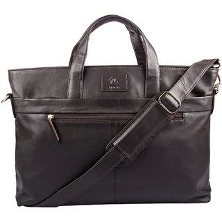 Kara WomenS Brown Leather Hand Bag