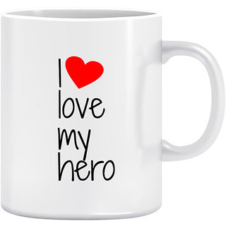 Joy N Fun -  HERO - Printed Coffee Mug 320ml White