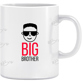 Joy N Fun- Big   Brother- Printed Coffee Mug 320ml White