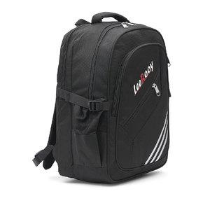 LeeRooy Nylon 21 Ltr Black Multipurpose Bag Backpack For Unisex