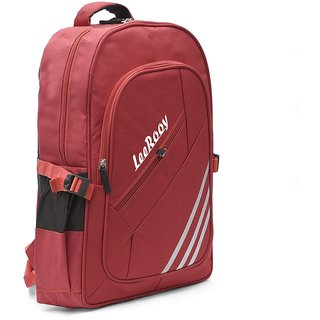 LeeRooy Nylon 23 Ltr Red Designer Bag Backpack For Unisex