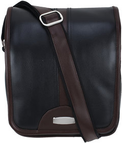 c0e4391fe21 BumBart Collection Men Women Casual Brown Black Colour Leatherette Sling Bag