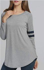 ANB-046 Westchic GREY Full Sleeves T-Shirts