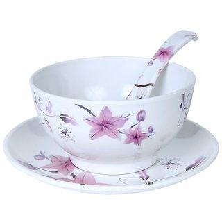 Mehul Crockery Melamine 18 Pcs Soup Bowl Set