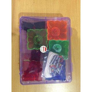 Multi Color Reflective Floating Diya (Pack of 12)