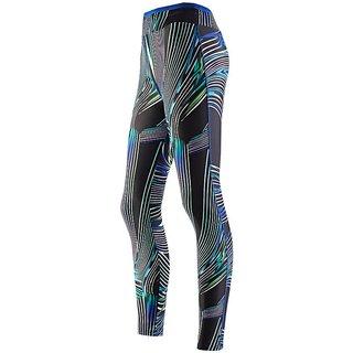 Lycot Women's Lycra Compression Leggings & Stretchable Gym Yoga Pant (Size: S , Color: Navy)