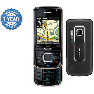 Refurbished Nokia 6210 Navigator Black Mobile