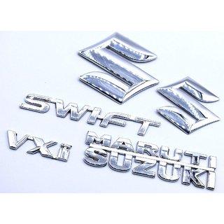 Customize Swift VXI Maruti Suzuki Emblem Kit