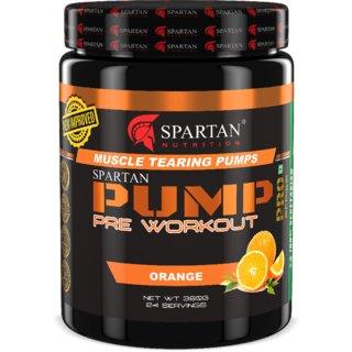 Spartan Nutrition  PUMP Pre-workout (360g  orange)