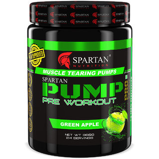 Spartan Nutrition  PUMP Pre-workout (360g  Greenapple)