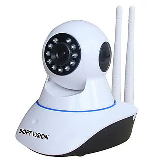 Indoor CCTV Home Security P2P WiFi IP Camera (White)