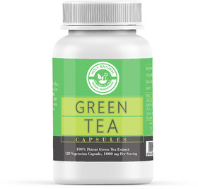 Green Tea Extract Capsule - 120 Veggie Caps By Holy Nat