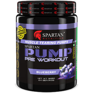 Spartan Nutrition  PUMP Pre-workout (360g  BlueBerry)