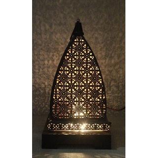 Gold  Black Hanging Illuminator Lamp (Electric)