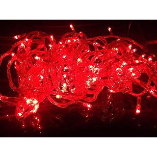 Diwali red rice lights (10 meter)
