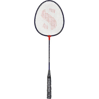 SVR Badminton Racquet in Multicolour for All Age Groups - Pack of 1 Standard Size Aluminium