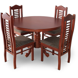 Melbourne wooden round dinning table