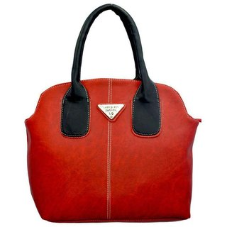 f53b1e6a2037b Buy Lady Queen Red Faux Leather Shoulder Bag Online - Get 82% Off
