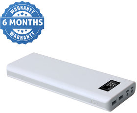 CallMate R PLUS BIG DADDY Power Bank 30000 mAh with 2 USB ports and Digital Battery Indicator with Torch