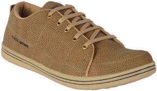 Port Men's Beige Synthetic Casual Shoes