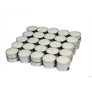 Tea Light pack of 50 Candles for Diwali Decoration by Clisaco