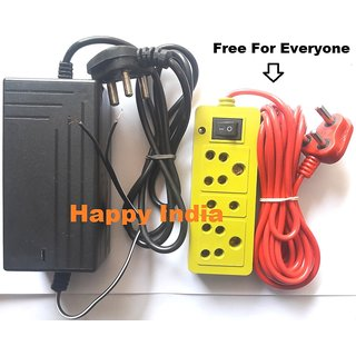 SMPS / Power Supply for RO Water Purifiers System (24V / 2 5Amp) Water  Proof With Free Extension Cord/Bord