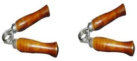 WOODEN HAND GRIPPERS 2 PAC