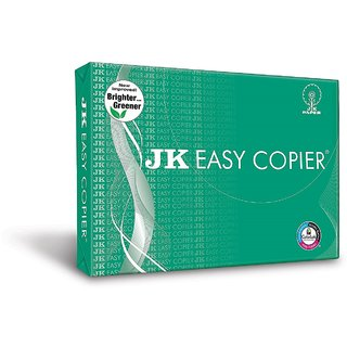 JK Easy copier unruled A4 Printer paper (Set of 1 white)