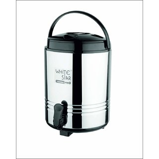 Whitestar Therma Insulated Hot and Cold Water Jug - 10 Ltr
