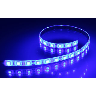 HIGH QUALITY Blue 5 METER LED STRIP WITH ADAPTER (NON WATER PROOF)