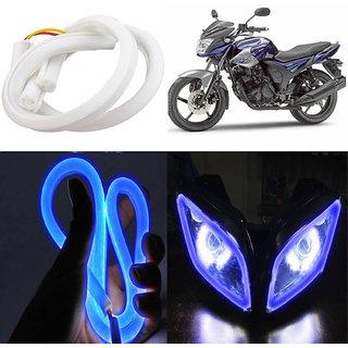 STAR SHINE  Flexible 30cm Audi / Neon LED Tube(Blue) For TVS Wego Scooty