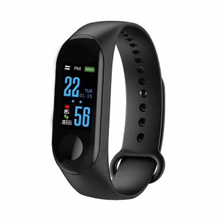 Bingo M3 Smart Band / Smart Bracelet with Blood Pressure, Heart Rate Monitoring  Water proof feature