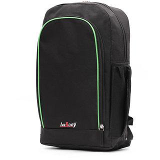 LeeRooy Nylon 19 Ltr Black Sling Bag Backpack For Men
