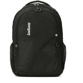 2ff55eaa2b83 Buy LeeRooy Canvas 20 Ltr Black Laptop Bag Backpack For Men Online - Get  31% Off