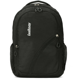 LeeRooy Nylon 21 Ltr Black Sling Bag Backpack For Men