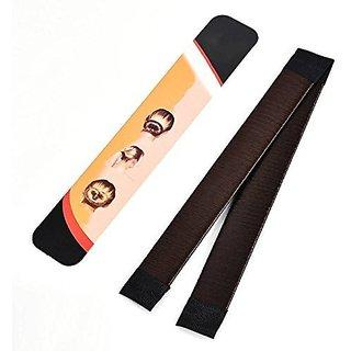dde470c37f2c Buy brahm Hair Donut Up Do Hair Ring Hairstyler Bun creator Bridal Hair  Piece (BLACK) Online - Get 58% Off