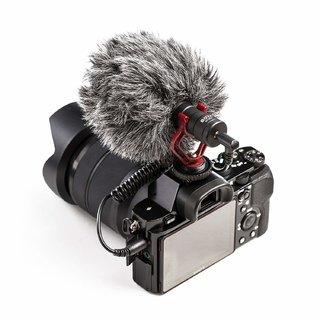 BOYA BY MM1 Universal Cardiod Shotgun Microphone Mini Mic for iPhone 8 8 plus 7 7 plus 6 6s