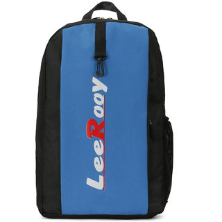 LeeRooy Nylon 21 Ltr Blue Sling Bag Backpack For Men