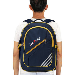LeeRooy Nylon 25 Ltr Blue Sling Bag Backpack For Men